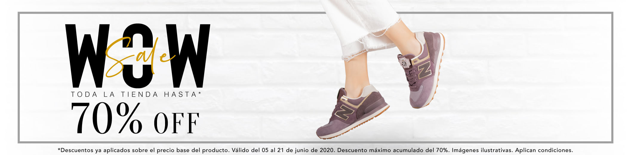 WOW SALE Hasta 70% OFF
