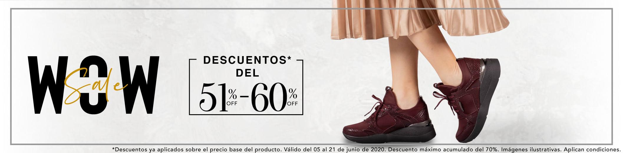 Zapatos Para Mujer Entre 51% y 60% Off