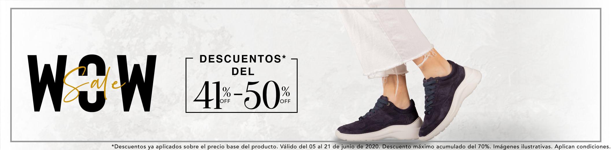 Zapatos Para Mujer Entre 41% y 50% Off