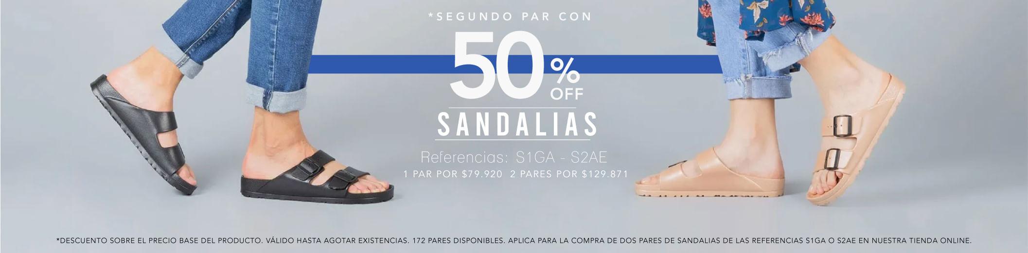 Promoción Sandalias Freeport